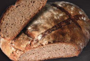 Photo de pain bio au levain Serverette