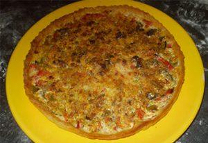 pizza maison à Serverette
