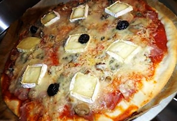 pizza 3 fromages Serverette