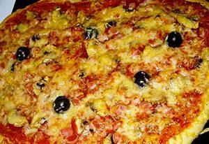 pizza champignons Serverette
