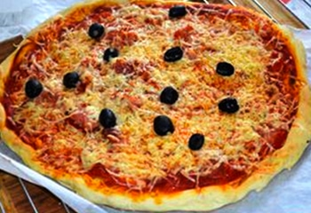 pizza fromage Serverette