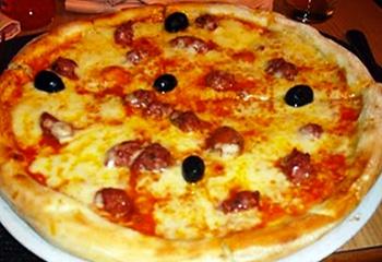 pizza merguez Serverette