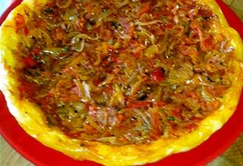 pizza oignons Serverette