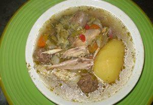 Bouillon de poulet maison de village Serverette