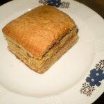 Gâteau à la farine de châtaigne à l'Auberge de Saint Jean Serverette 48