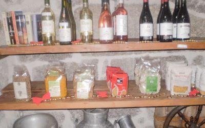 Epicerie Fine à l'Auberge-Boulangerie de Saint Jean Serverette