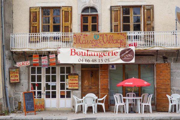 boulangerie Maison de Village Serverette chambres d'hôtes en Lozère